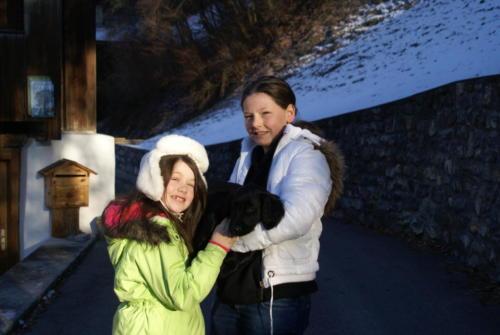 Ivano und Kinder von Familie Völkle