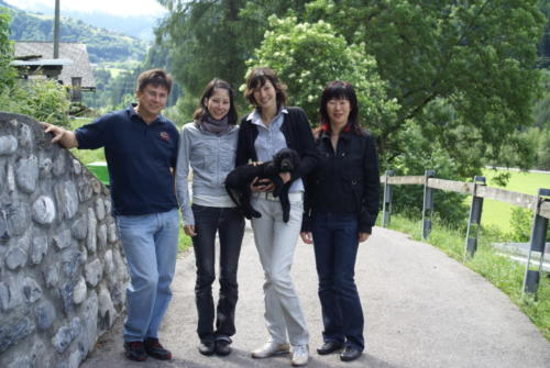 Familie Berner mit Joyful Kuro