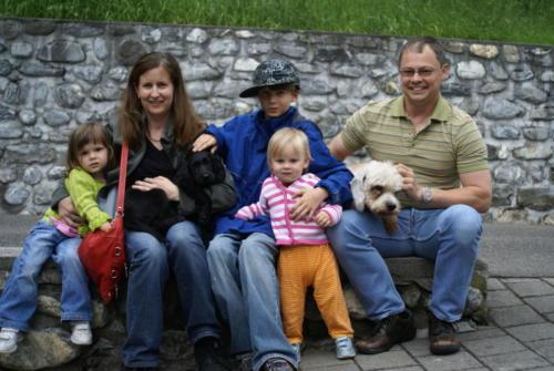 Familie Marty und Jaska