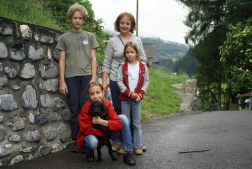 Familie Nitzschke und Jerry