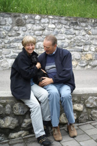 Jolanda und Christian Vetterli mit Jamie