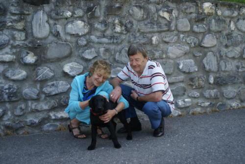 O Oleg mit René und Heidi