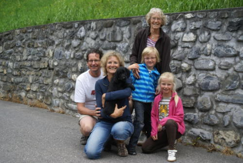 O Olympia Mili mit Andrea, Peter und Familie (1)