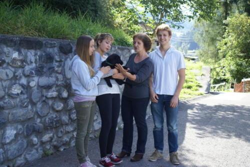 2 Famiie Nitzsche mit Pamira