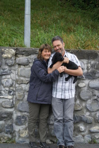 2 Andy und Yvonne mit Philou
