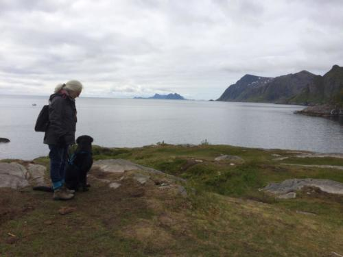 93 Qadira und Brigitte auf den Lofoten