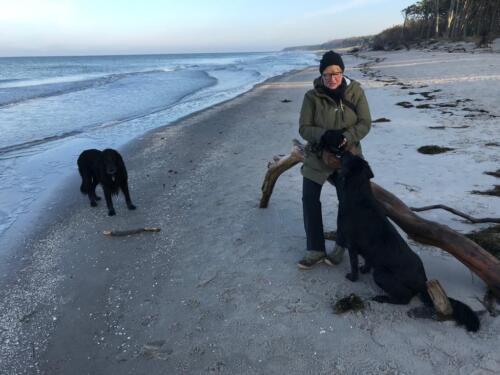 Rhea und Owen an der Ostsee (1)